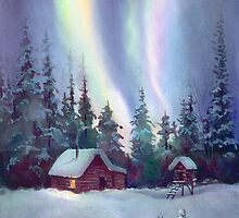 NORTHERN LIGHTS by SHARON SHARPE by sharonsharpe
