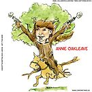 Annie Oakleave The Forest Fights Back by Rick  London