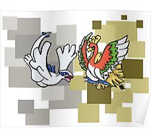 Lugia & Ho-Oh Poster