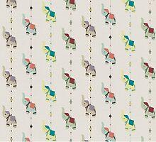 Indian Elephants by HenryWine