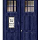 Doctor Who Police Box by thatstickerguy