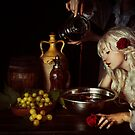 Red - Apology to wine by Himitsuhana