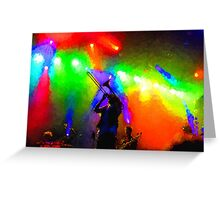 Rainbow Music - Trombone Solo in the Limelight Greeting Card