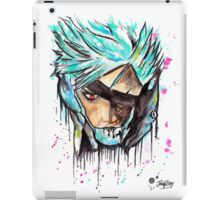 Metal Gear Solid Rising - RAIDEN - Grafitti art - T shirts + More iPad Case/Skin