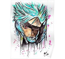 Metal Gear Solid Rising - RAIDEN - Grafitti art - T shirts + More Poster