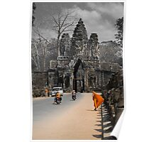 Gate to Angkor - Cambodia Poster