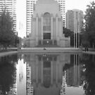 ANZAC War Memorial and Pool of Rememberance by Jodie Elchah