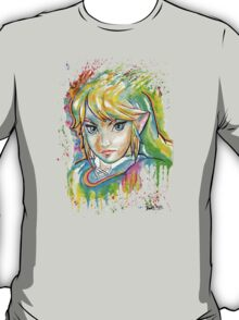 Epic Link Watercolor Tshirts + More ' Legend of Zelda ' T-Shirt