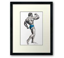 Mr Universe Framed Print