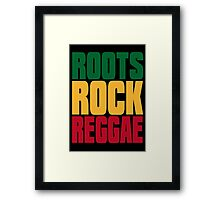 ROOTS ROCK REGGAE Framed Print