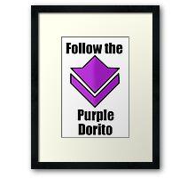 Commander's Compendium - Purple Framed Print