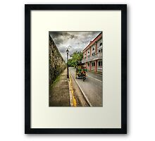 Walled City Tour Framed Print
