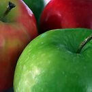 Apples Red &amp; Green by Stephen Thomas
