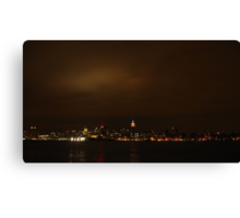 Manhattan. Canvas Print