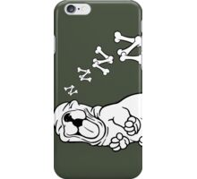 Sleepy Puppy  iPhone Case/Skin