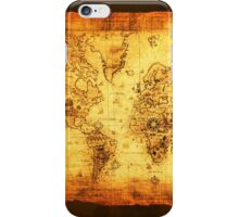 Vintage Old World Map iPhone Case/Skin