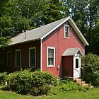 RED SCHOOL HOUSE by Thomas Barker-Detwiler