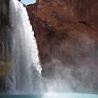 HAVASUPAI WATERFALL by EDMUNDOENCISO09
