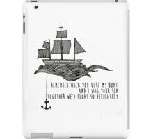 You Me At Six Fireworks Lyrics iPad Case/Skin