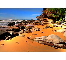 True Colours - Warriewood Beach - Sydney Beaches - The HDR Series - Sydney Australia Photographic Print