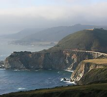 Bixby Bridge at Big Sur by John Michael Sudol