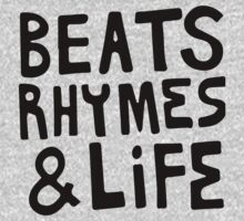 A Tribe Called Quest Beats, Rhymes & Life by thehiphopshop