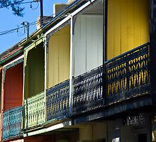 Row Houses by Mark Richards
