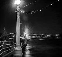Manhattan Beach Pier by HannaOxford