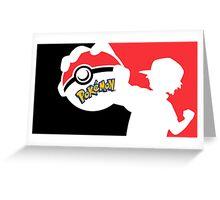Pokemon Art Greeting Card