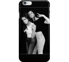 Camren Black and white iPhone Case/Skin