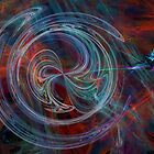 The Spark of Life - Abstract Art by Rod Johnson