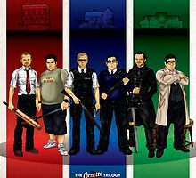 The Cornetto Trilogy. by CosmicThunder