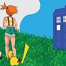 Enter the TARDIS Misty by ArkelAngel