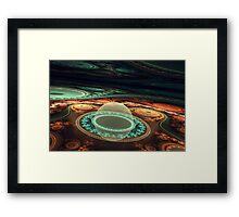 The Spacetime Bubble Framed Print