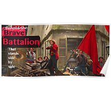 The Brave Battalion Poster