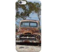 Old International pick-up truck (Lunatic Hill) iPhone Case/Skin