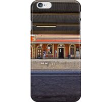 Train Station in Goulburn/NSW/Australia (11) iPhone Case/Skin