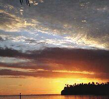"""Tahitian Sunset"" by Bryan  Zinski"