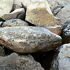 beach rocks, Kauai, HI by rmenaker