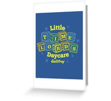 Little Time Lords Daycare Gallifrey Doctor Who Youth Tee Greeting Card