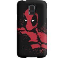 Merc in Red (black Tee) Samsung Galaxy Case/Skin