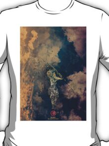 Nujabes - Land of the samurai vinyl poster T-Shirt