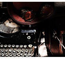 Steampunk Reflection Photographic Print