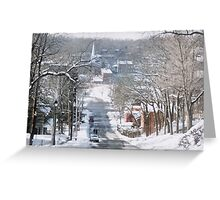 Winter in Galena Greeting Card