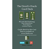 NEW! Druid Oracle Published Deck! Photographic Print