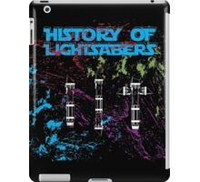 History of Lightsabers iPad Case/Skin