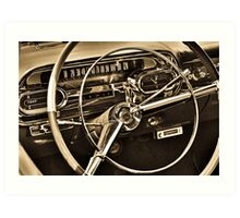 You Are Driving Art Print