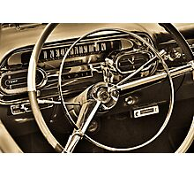 You Are Driving Photographic Print