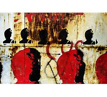 REDFACE Photographic Print