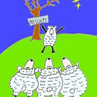 sheeps by deno56